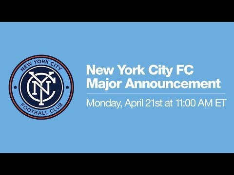 New York City - New York City FC's Jason Kreis, Claudio Reyna, and Tim Pernetti make a major announcement on the club's road to first kick 2015. Subscribe to our channel for...