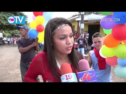 Terrabona celebra la alegría de vivir en paz ratificando su apoyo al frente sandinista