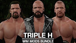 I showcase three Triple H mods from WrestleMania 28, 32 and 33! The mods was created by AlcLegacy! If you guys appreciate all the hours and hard work I put into these videos, you have the option to donate to me to support me even more! Donate Link: https://streampro.io/tip/jules1451Show some love by leaving a like, sharing and subscribing for more awesome videos like these!OUTRO MUSIC: Undertaker's Rollin Theme Cover by JAYDEGARROWJAYDEGARROW's YouTube: https://www.youtube.com/channel/UCit4zHRRYaU5Og8ZHqvA7jQFOLLOW ME HERE:Facebook: https://www.facebook.com/julian.rosado.14Twitter: https://twitter.com/Jules1451Instagram: https://www.instagram.com/jules1451/Snapchat: @Jules1451Want to see more WWE 2K16 & WWE 2K17 Content? Visit this link for more! http://www.thesmackdownhotel.com