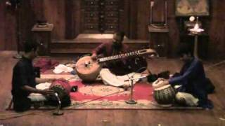 Classical Indian Veena/Tabla/Mridangam Perfomance - Cochin, India 2010