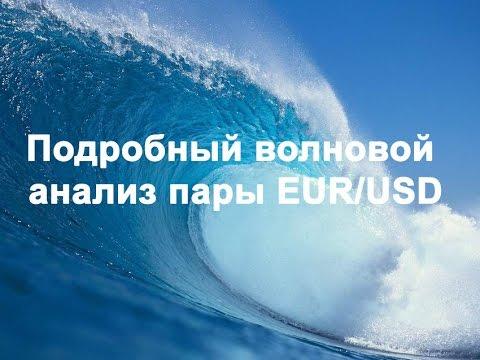 Подробный волновой анализ ЕUR/USD (11.04.2017.) - DomaVideo.Ru