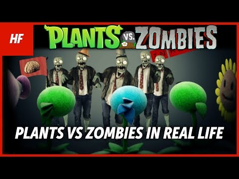 Plants VS Zombies IN REAL LIFE (FAN MADE) (by HETHFILMS)