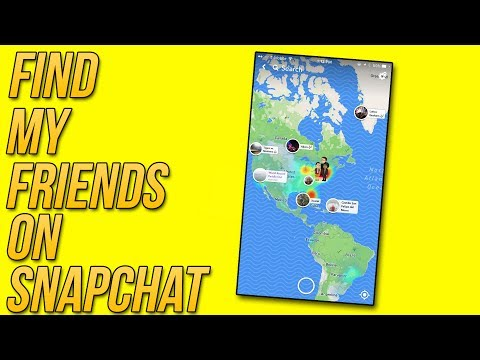 """Snapchat Update 10.11.0 - """"SnapMaps"""" - Find My Friends on Snapchat (Tips and tricks)"""