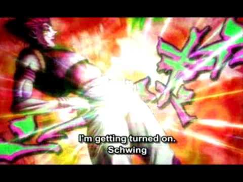 AH MY Reaction to Hisoka's Schwing.