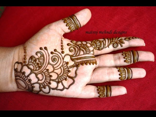 Mehndi Design Tutorial Download : Easy simple mehndi henna designs tutorials design