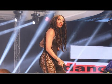 Highlights of Tiwa Savage performing at Warri Mega Fiesta