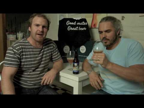Funny men Cam & Lep check out Brewfist's Spaceman