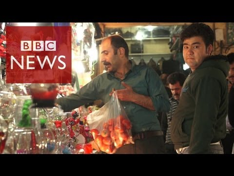 Iran - Iranians are hoping the Persian New Year will bring better financial fortunes. Nowruz usually sees the shops and bazaars packed with shoppers - but the count...