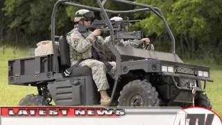 9. ATV Television Latest News - Polaris Military Vehicles