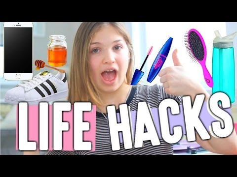 LIFE CHANGING LIFE HACKS!