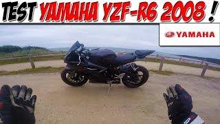 7. #Moto Vlog 94 : TEST YAMAHA YZF-R6 2008 / UNE MOTO DE PISTE SUR ROUTE !😈