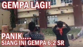 Video LAGI! Panik Gempa 6,2 SR di Lombok Siang Ini Saat Penyerahan Bantuan ( 9 Agustus 2018 ) - Bali Today MP3, 3GP, MP4, WEBM, AVI, FLV Agustus 2018