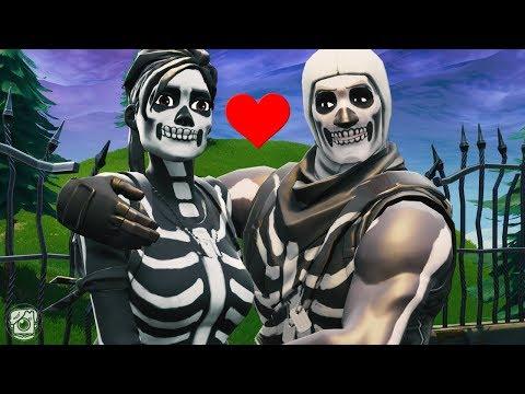 SKULL TROOPER FALLS IN LOVE WITH SKULL RANGER!? *NEW SEASON 6* - A Fortnite Short Film