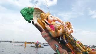 Video India's Biggest Ganesh Nimajjanam l Khairatabad Ganesh Nimajjanam in Tank Bund l Hyderabad MP3, 3GP, MP4, WEBM, AVI, FLV Februari 2019