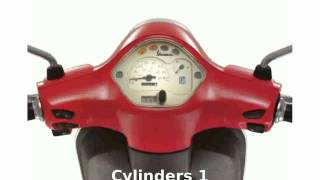 8. 2014 Vespa LX 50 4V Details and Features