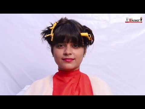 Hair cutting - Mixing hair cut tutorial in Hindi...