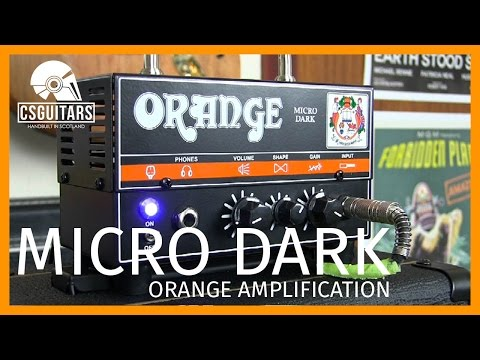 Orange Micro Dark: 20W Hybrid Amp