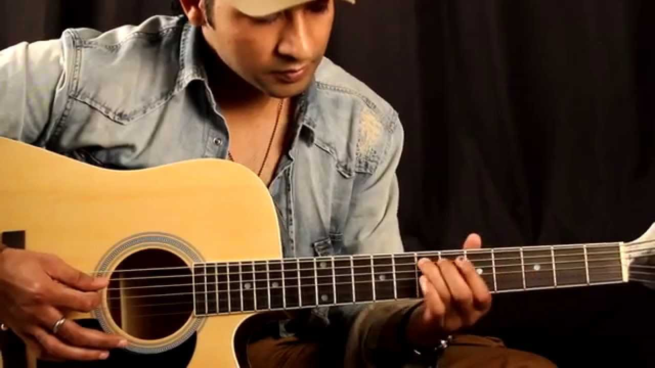 Challa – jab tak hai jaan- intro Guitar Lesson in Hindi for beginners By VEER KUMAR