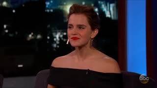 Emma Watson Harry Potter sahne arkası çekimlerini izliyor ve alışkanlığından bahsediyor. I have no rights on this video.All rights...
