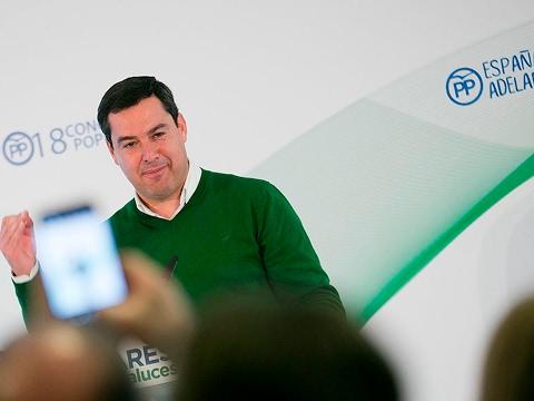 "Juanma Moreno: ""Nos prestamos a evitar el colapso sanitario en Andalucía"""