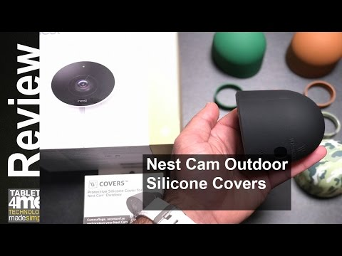 Nest Cam Outdoor Silicone Covers from Wasserstein