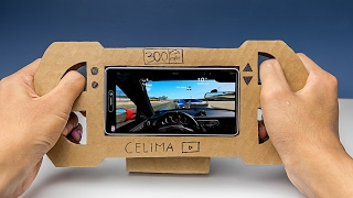 Video How To Make a Gaming Steering Wheel From Cardboard For Smartphone (DIY) MP3, 3GP, MP4, WEBM, AVI, FLV Mei 2017