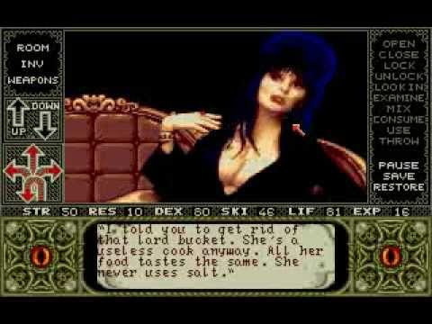 elvira mistress of the dark amiga game