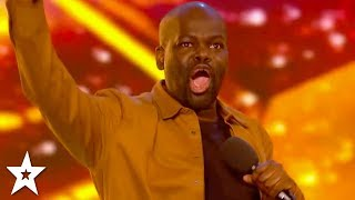 Nonton Hilarious Comedian Daliso Chaponda Wins Golden Buzzer    Britain S Got Talent 2017 Film Subtitle Indonesia Streaming Movie Download