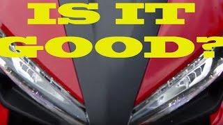 8. 2017 Honda CBR500R 800 Mile Review