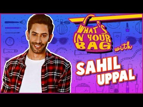 SAHIL UPPAL aka Kunal | What's in your Bag| Ek Shr