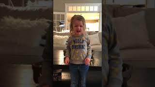 Video 5 year old girl sings Never Enough - the greatest showman MP3, 3GP, MP4, WEBM, AVI, FLV Mei 2018