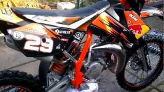 6. 2008 RED BULL KTM 85 SX AFTER REBUILD