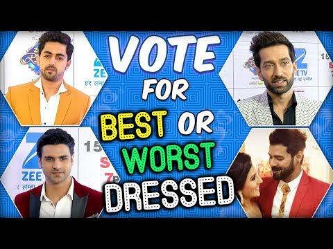 Vote For BEST Or WORST Dressed Actor |  Shabir Ahl