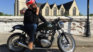 5. Upgraded Triumph Thruxton 900 Review