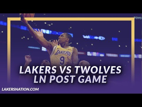 Video: Lakers Discussion: Laker lose to the T-Wolves, Rondo Returns, Kuzma Dealing With Injured Hip