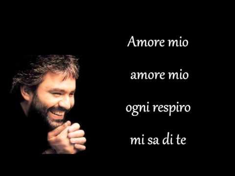 , title : 'Andrea Bocelli  Semplicemente (Canto per te) testo'