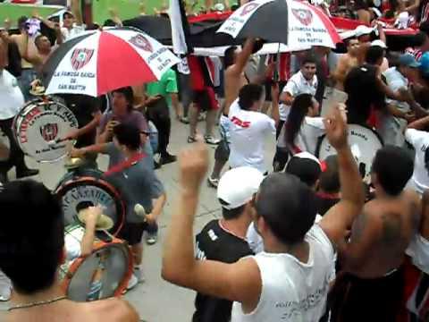 Video - La Famosa Banda De San Martin!!! - La Famosa Banda de San Martin - Chacarita Juniors - Argentina