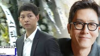 Download Video Song Joong Ki Immediately Goes to Kim Joo Hyuk's Funeral after His Wedding MP3 3GP MP4