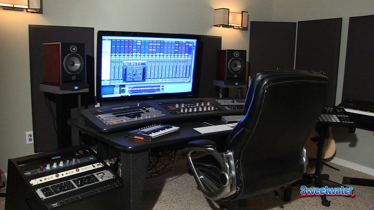 Recording Music Studio Wallpaper