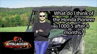 7. Part 1: Honda Pioneer 1000 5 Owners Review and Pioneer 500 Comparison