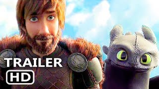 Video HOW TO TRAIN YOUR DRAGON 3 Official Trailer (2018) Animation, Adventure MP3, 3GP, MP4, WEBM, AVI, FLV Oktober 2018