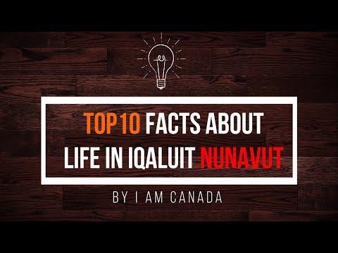 Life in iqaluit Nunavat - Northern Canada