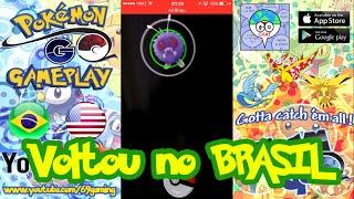 Pokemon Go Brasil Funcionando Finalmente!!! Sem VPN! by Pokémon GO Gameplay