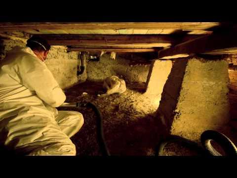 Efterisolering af gulv over krybekælder