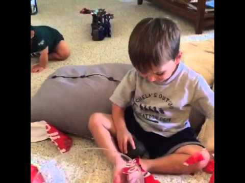 This Kid Pretends To Be Super Excited For His Avocado Gift [WATCH]