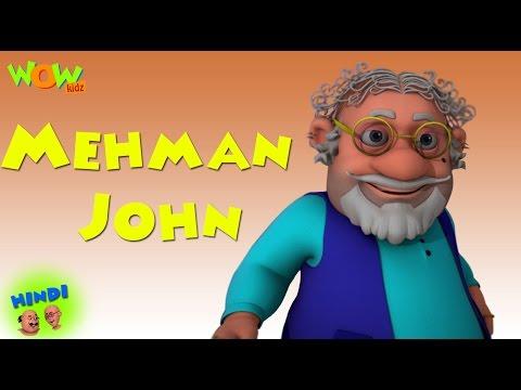 Video Mehman John - Motu Patlu in Hindi - 3D Animation Cartoon for Kids -As seen on Nickelodeon download in MP3, 3GP, MP4, WEBM, AVI, FLV January 2017