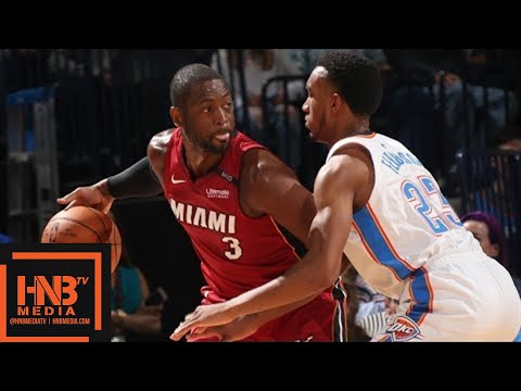 Oklahoma City Thunder vs Miami Heat Full Game Highlights / March 23 / 2017-18 NBA Season - Thời lượng: 9:42.