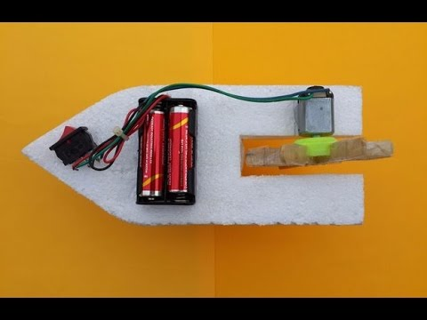 Video How to make an Electric Boat at Home download in MP3, 3GP, MP4, WEBM, AVI, FLV January 2017