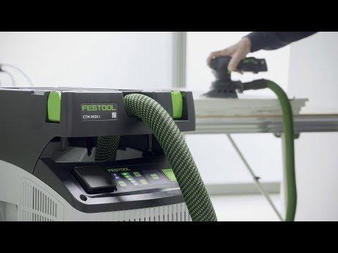Видео Пылеудаляющий аппарат Festool CTL MIDI I