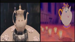 Video Be Our Guest Beauty and the Beast 2017 vs 1991 Comparison MP3, 3GP, MP4, WEBM, AVI, FLV Agustus 2017
